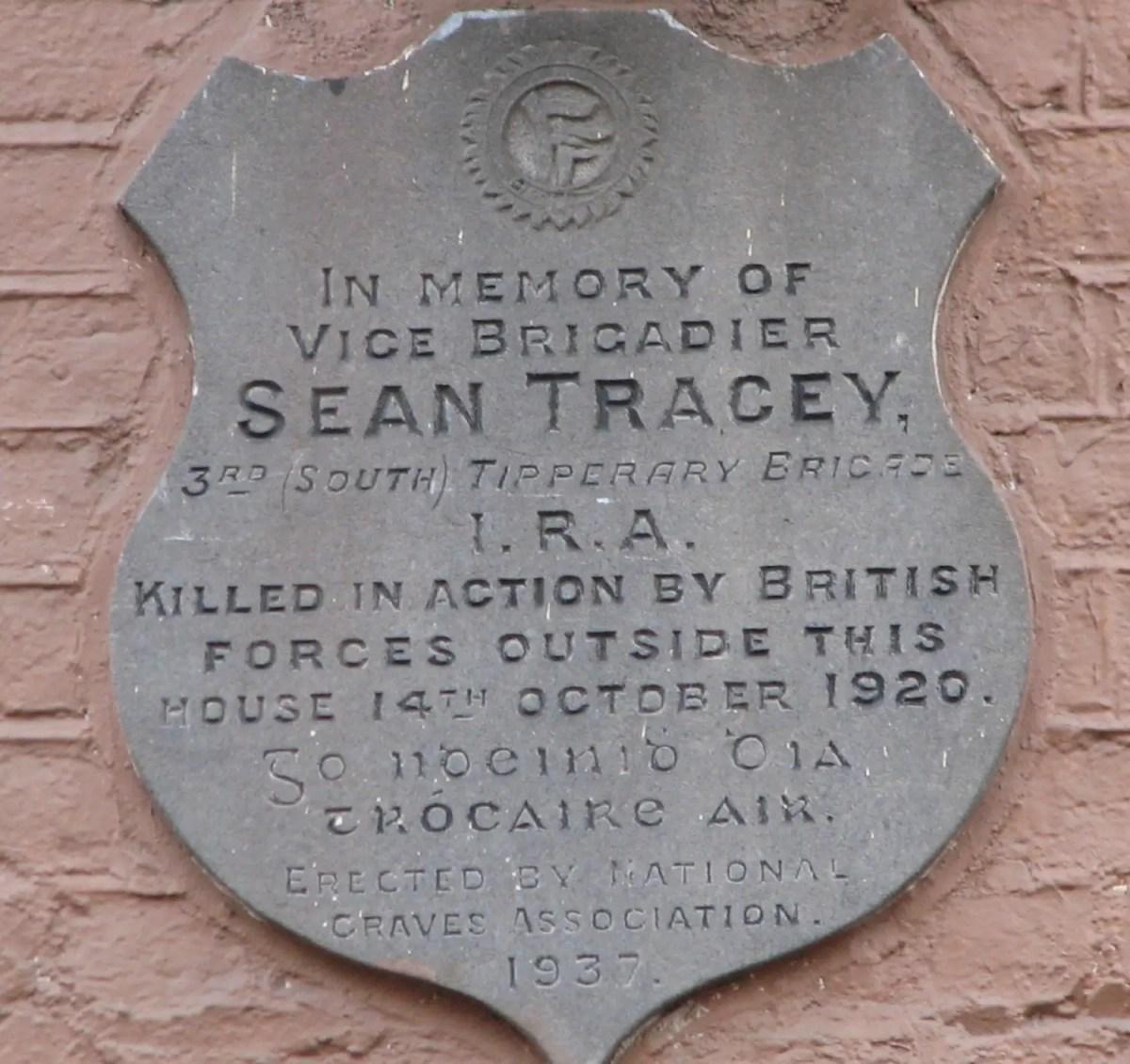 #OTD in 1895 – Birth of Revolutionary, Sean Treacy in Co Tipperary.