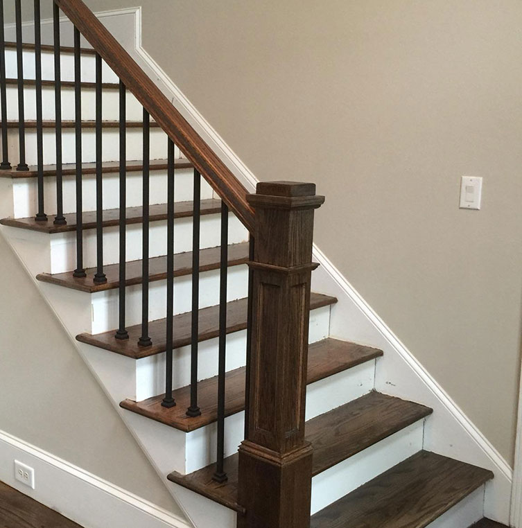 Amusing Wooden Stair Banister 54 For Your Trends Design Ideas With