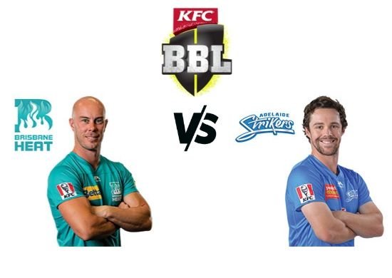 Brisbane Heat vs Adelaide Strikers, BBL 2019-20 T20 36th Match Schedule