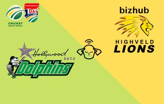 Lions vs Dolphins, Momentum ODI Cup 2020, 28th Match Prediction