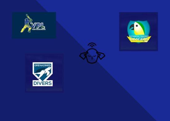 Botanic Garden Rangers vs Grenadines Divers, VPL T10 2020, Eliminator, Match Prediction