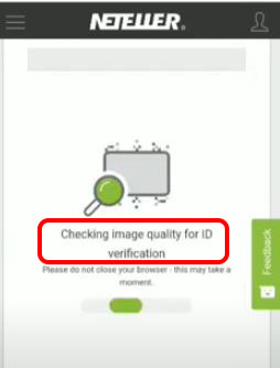 Checking the image quality for ID verification