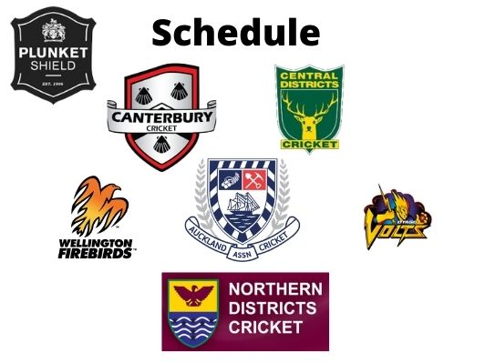 Plunket Shield 2020-21 Schedule