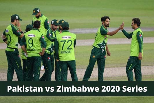 Zimbabwe tour of Pakistan Schedule 2020