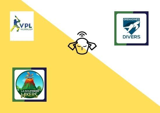 La Soufriere Hikers vs Grenadines Divers, 19th Match, Vincy T10 Premier League 2020