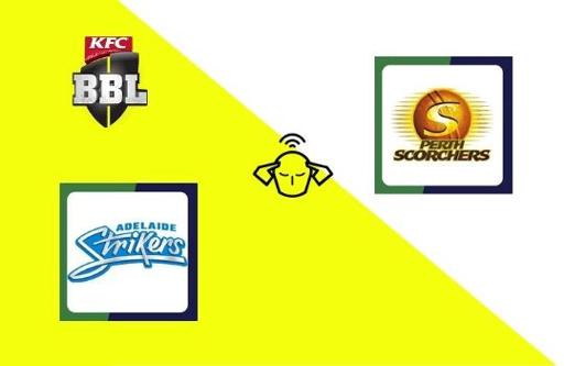 Adelaide Strikers vs Perth Scorchers, Big Bash League 2020   21st T20 Match Prediction