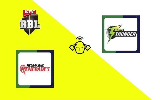 Melbourne Renegades vs Sydney Thunder, Big Bash League 2020   22nd T20 Match Prediction