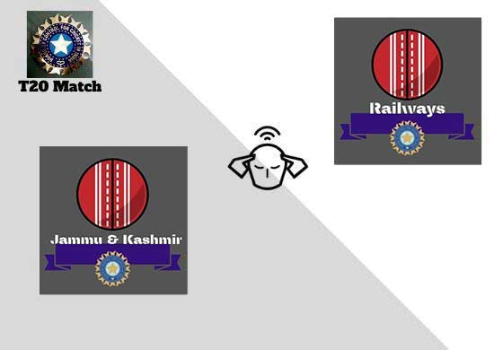 Jammu and Kashmir vs Railways, Elite Group A, Syed Mushtaq Ali Trophy 2021   T20 Match Prediction