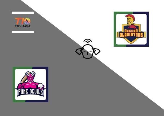 Pune Devils vs Deccan Gladiators, Group B, T10 League 2021, 2nd Match Prediction