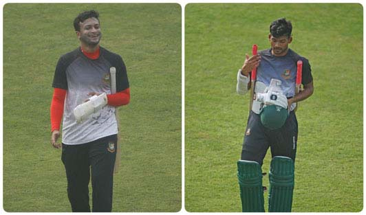 Shakib Will Play at Number 4 as Shanto is Going To Take His Usual Position Against WI