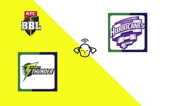 Sydney Thunder vs Hobart Hurricanes, Big Bash League 2020-21 | 43rd T20 Match Prediction
