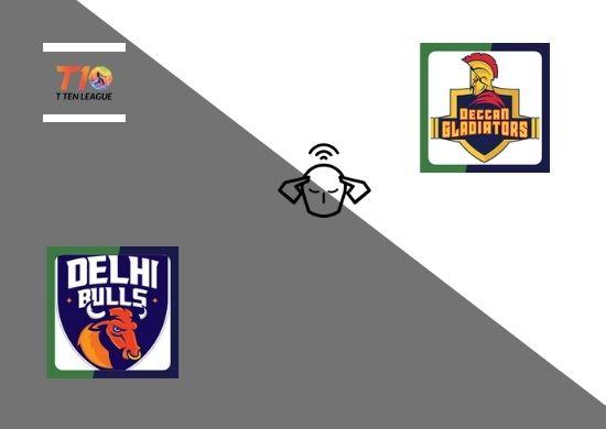 Delhi Bulls vs Deccan Gladiators, Super League, T10 League 2021, 15th Match Prediction
