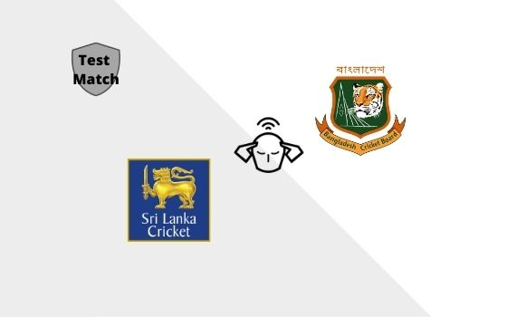 Bangladesh tour of Sri Lanka 2021, Test Match Prediction