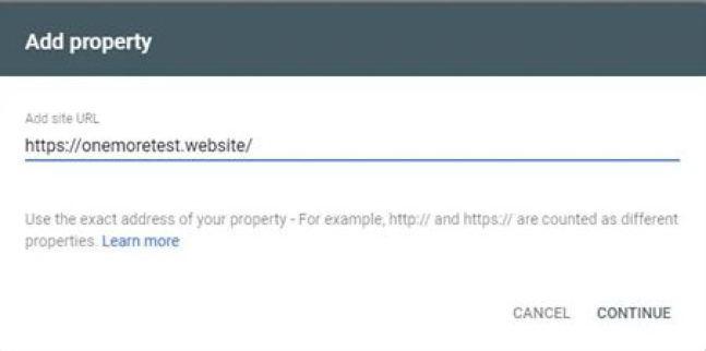 5 Etapas de Verificação Google Search Console