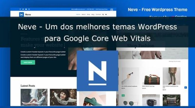 Review Tema Neve Core Web Vitals