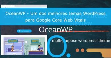 Review Tema OceanWP Core Web Vitals