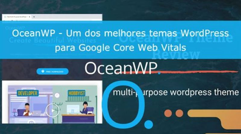Review Tema OceanWP Core Web Vitals