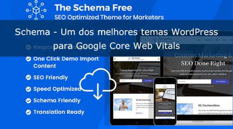 Review Tema Schema Core Web Vitals