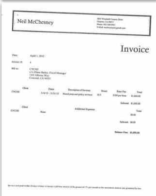Invoice 4-4-15 Neil McChesney