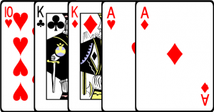 two pair - poker