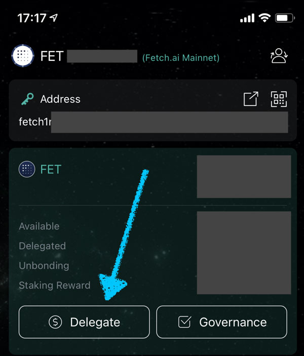 Fetch Mainnet key symbol