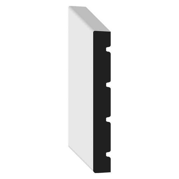 flat stock baseboard