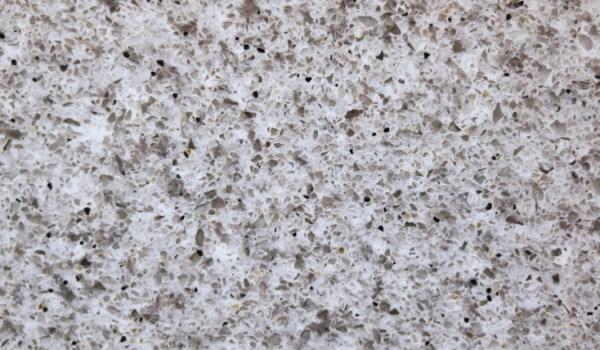 Pebbled Stone Flecked Quartz Counter