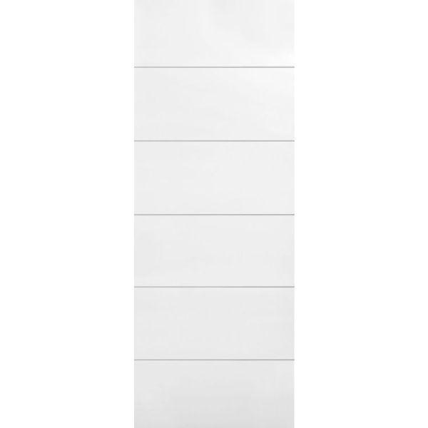 Melrose 6 panel modern moulded interior door