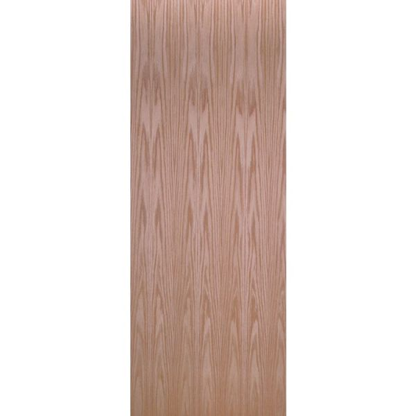 Oak Veneer Flush Interior Door