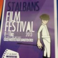 A poster for the St. Albans film festival