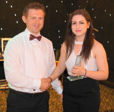 Manager's Player of The Year 2014 - Ellen Beary