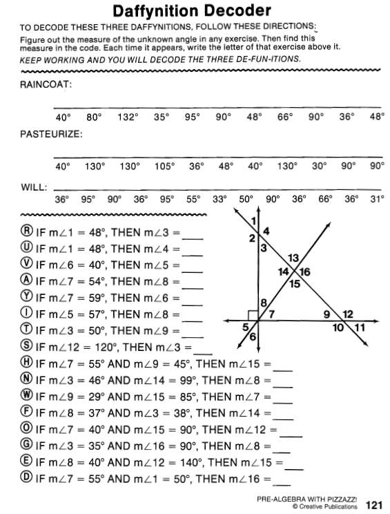 33 Daffynition Decoder Worksheet Answers Page 62