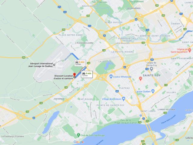 Location auto Québec