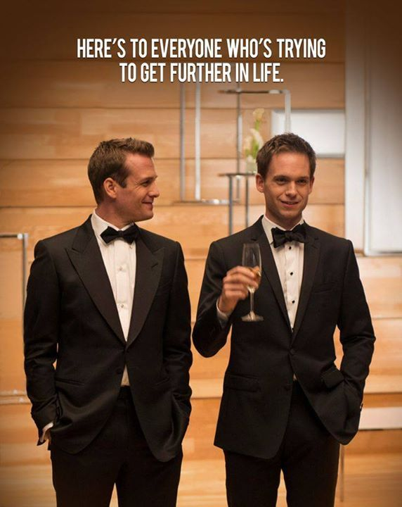 harvey specter et mike ross