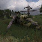 Военный вертолет из игры