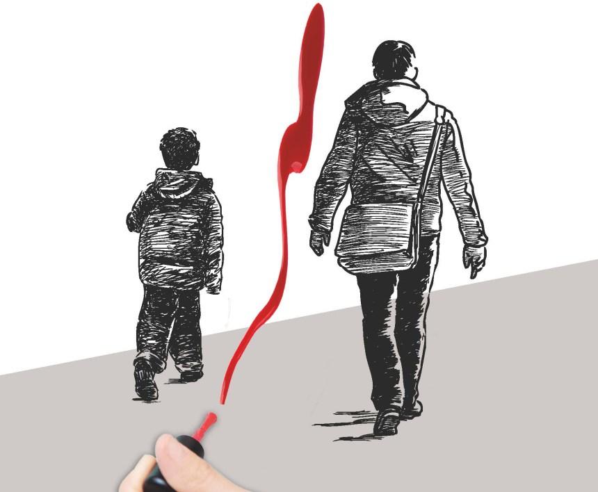 """""""Dalla parte del padre"""": un racconto dell'orrore"""