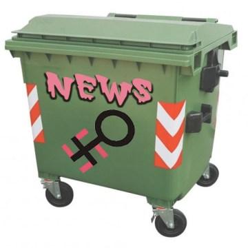 Il cassonetto differenziato per le news femminaziste (disinnescate)