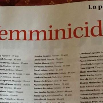 I femminicidi in Italia negli ultimi 13 mesi: l'analisi di dettaglio