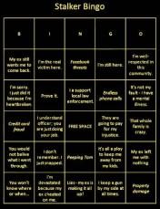 Stalker Bingo