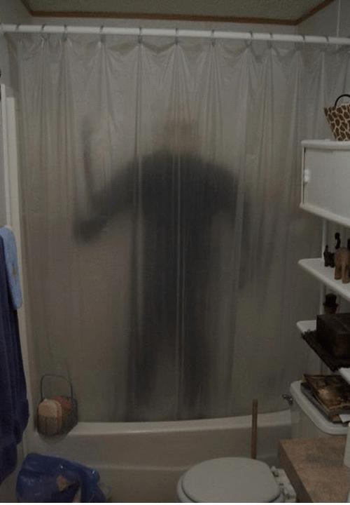 One Killer Shower Curtain Craig Zablo