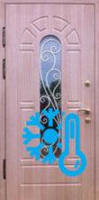 уличная дверь стеклопакет+терморазрыв