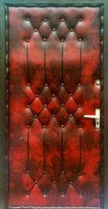 двери уличные в дермантине