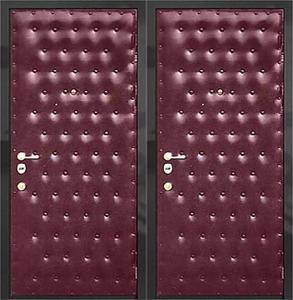 дверь металлическая винил с двух сторон