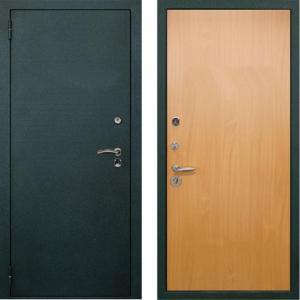 стальные двери цельногнутые с отделкой ламинат заводские