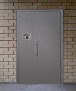 железные двери в подъезд с домофоном +установка от производителя Долгопрудный