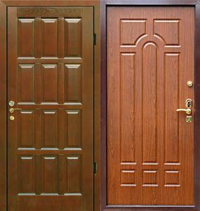дверь входная филенчатая под заказ