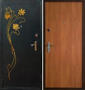 двери с ковкой в дом