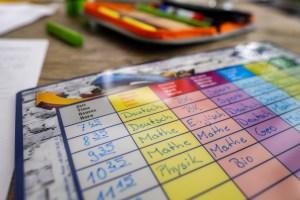 student care program schedule
