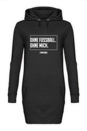 Fussball – Frauen Hoodie-Kleid
