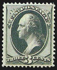 3¢ Washington - green
